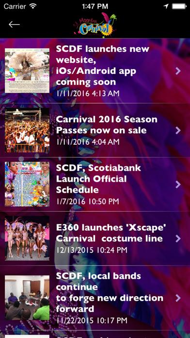 St. Maarten Carnival screenshot two