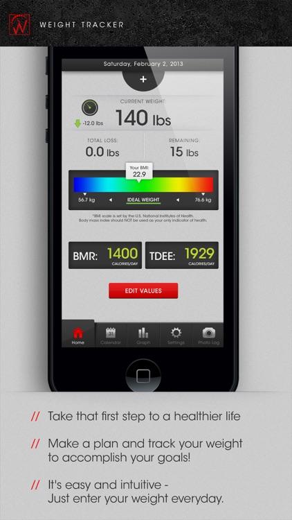 Weight Tracker Journal Pro