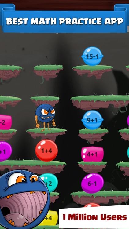 Monster Math : Kids Fun Games screenshot-0