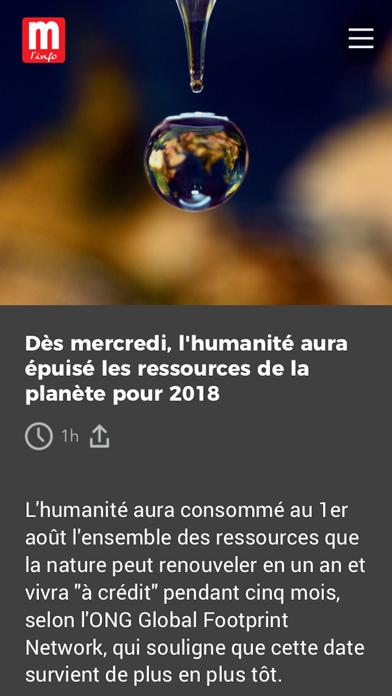 Le Mauricien screenshot one