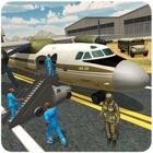 軍の囚人輸送機 - 警察バスドライバ icon