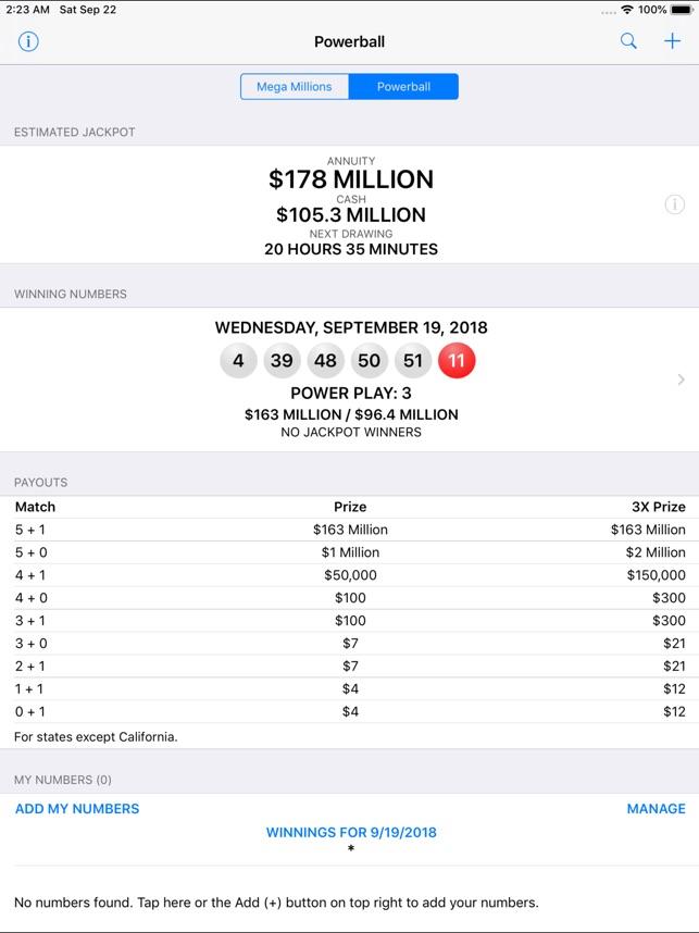 Mega Millions Ball 12