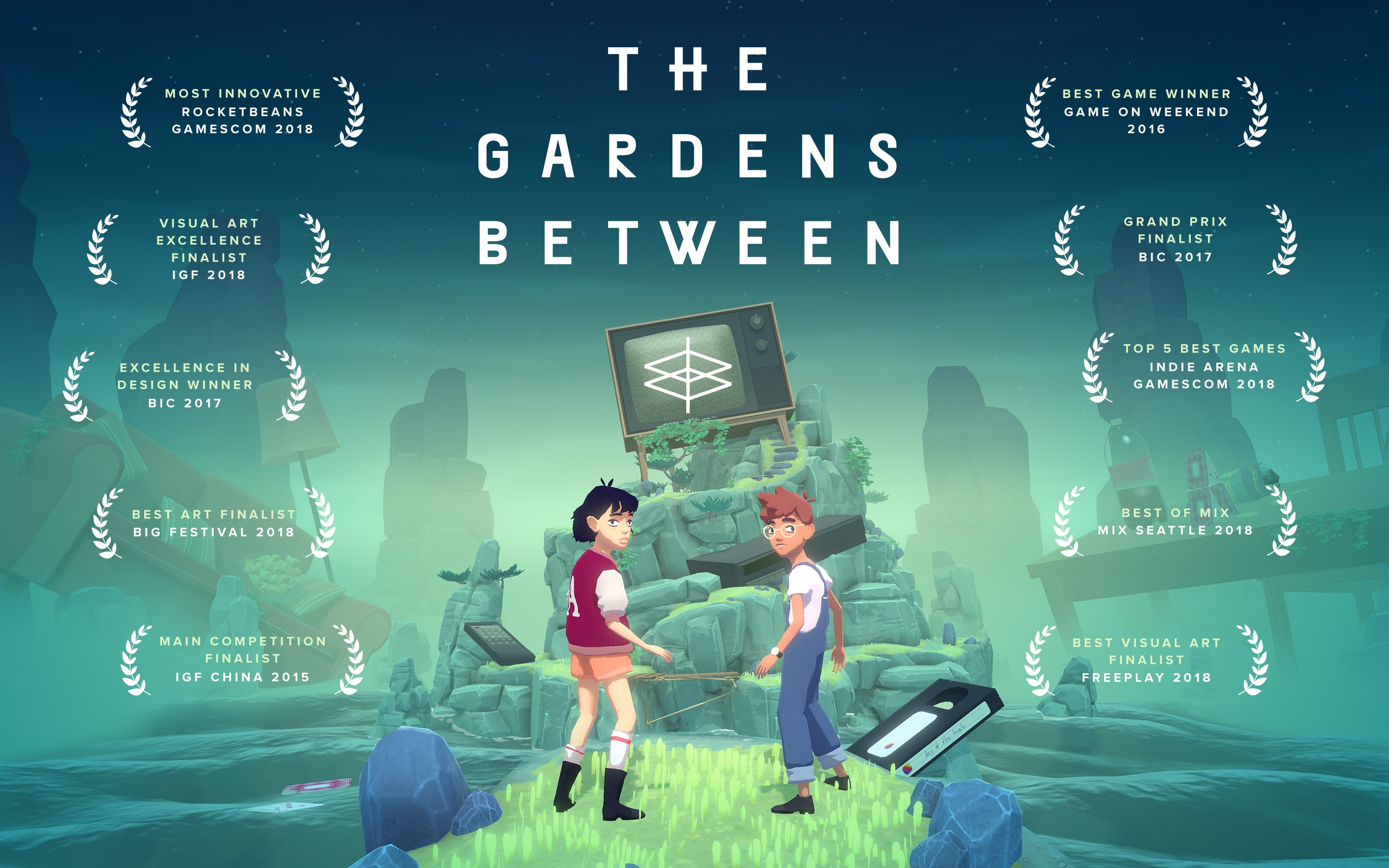Screenshot do app The Gardens Between