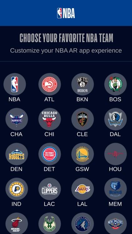 NBA AR Basketball screenshot-7