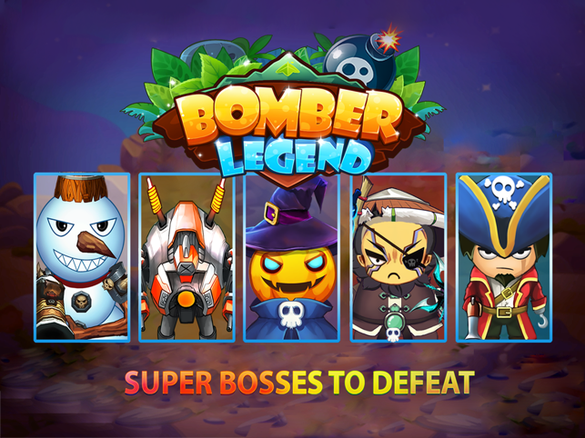 Bomber Legend, game for IOS