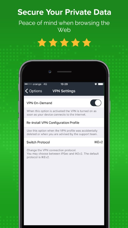 ibVPN - VPN for Wifi Security screenshot-3