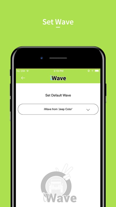 iWaveTheApp Screenshots