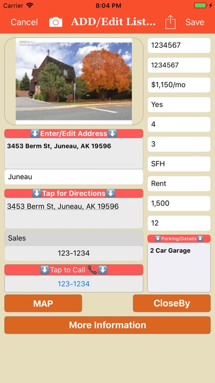 Real Estate List screenshot-1
