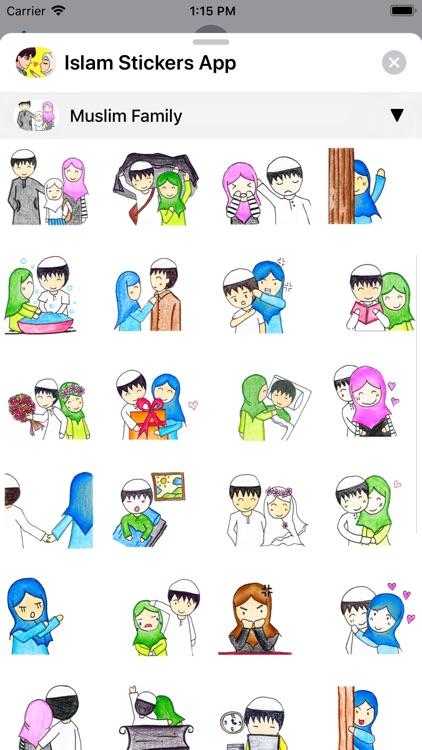 Islam Stickers App screenshot-8