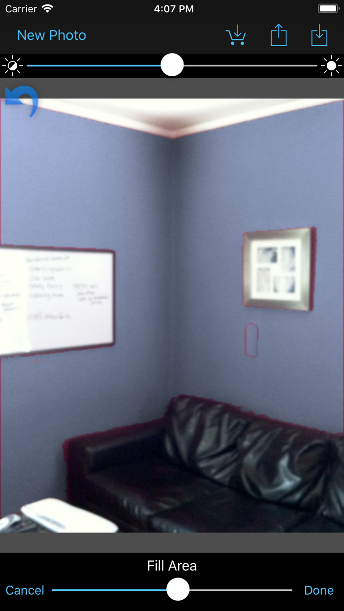 Paint Tester Screenshot
