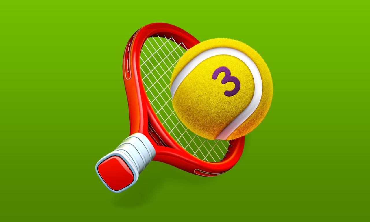 Hit Tennis 3 - Swipe & Flick Ball Sports
