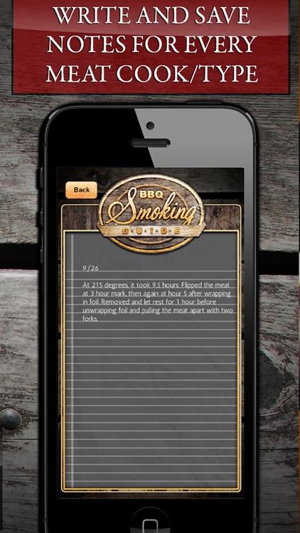 BBQ Smoking Cooking Guide! screenshot-4