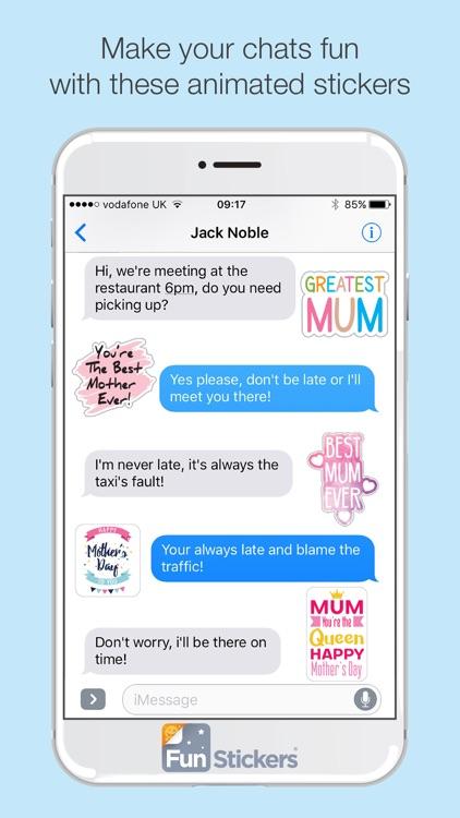 Mother's Day iSticker screenshot-3