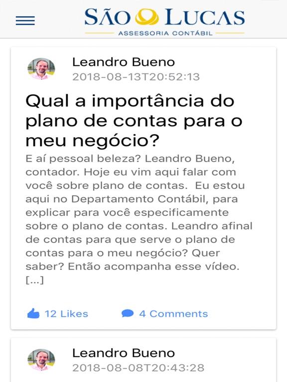 iPad Image of São Lucas Assessoria