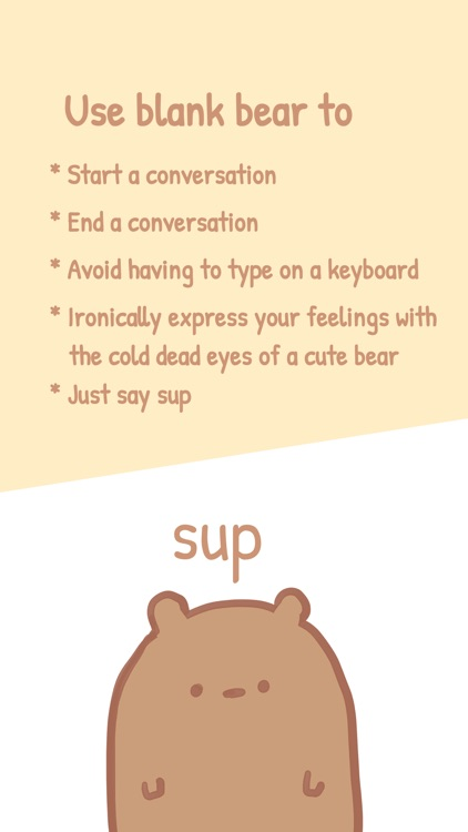 Blank Bear Stickers screenshot-2