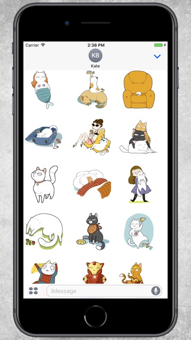 Screenshot for Cat's Power Stickers in Colombia App Store