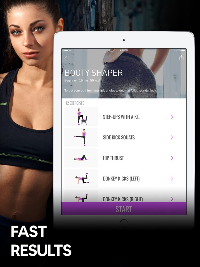 Butt Workout and Fitness App on the App Store