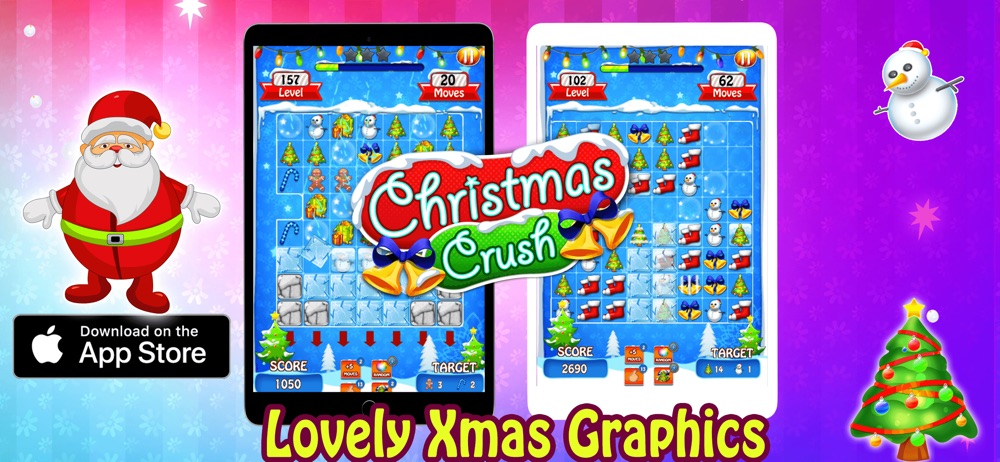 Christmas Crush 2018 Xmas Game Cheat Codes