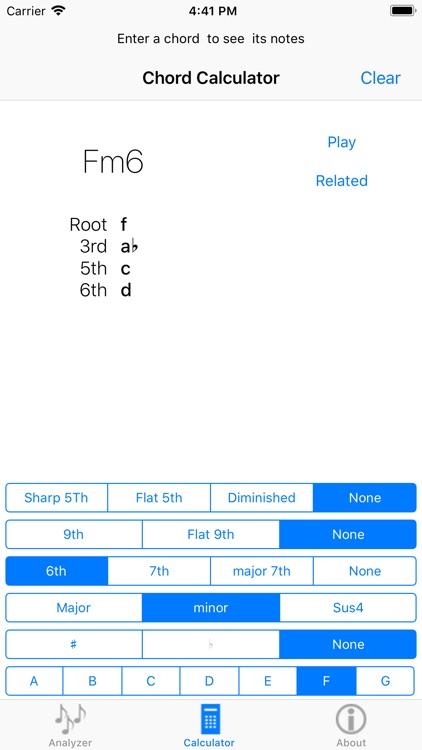 chord Finder by MoodWorks
