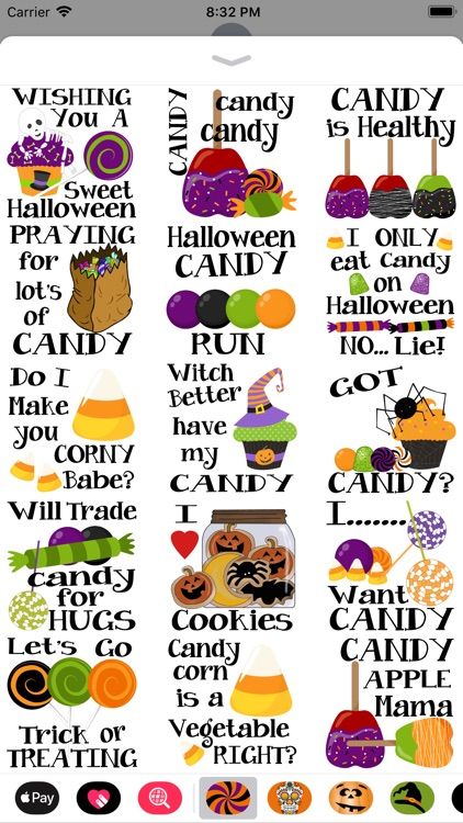 Halloween Candy Yum