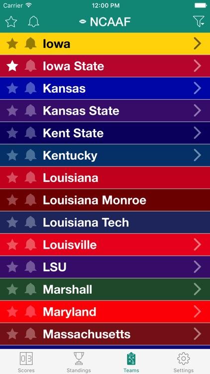College Football Live Radio screenshot-4