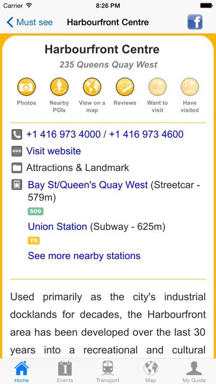 Toronto Travel Guide Offline screenshot-4