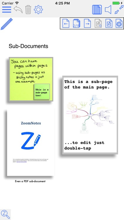 ZoomNotes screenshot-1