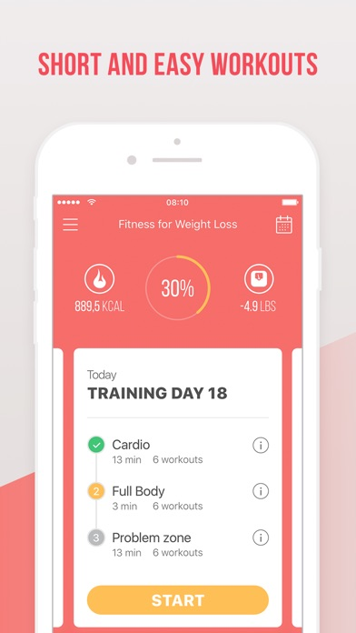 Weight Loss Fitness app image