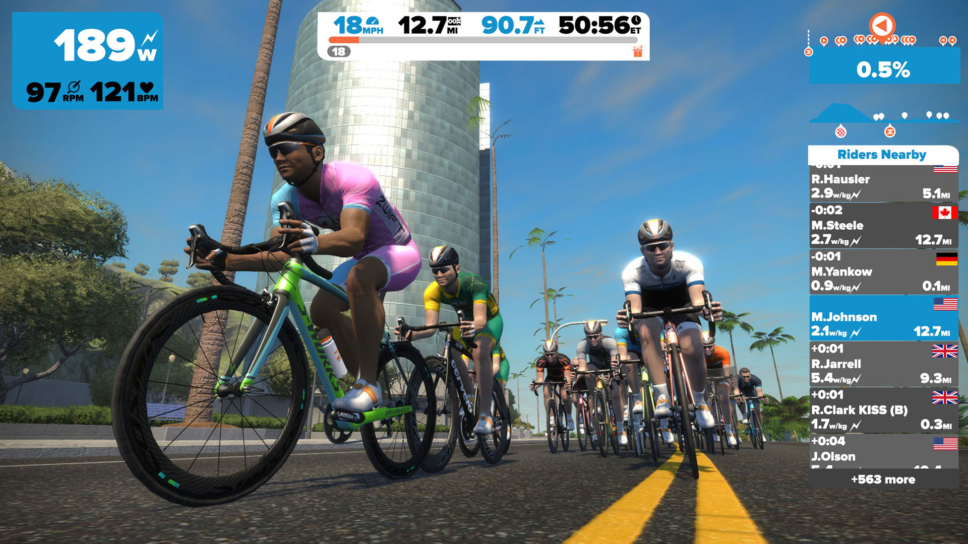 Zwift: Ride and Run screenshot 12
