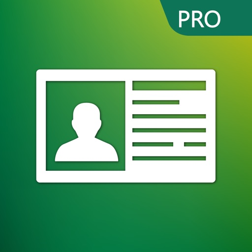 Scanner De Carte Visite Pro App Logo