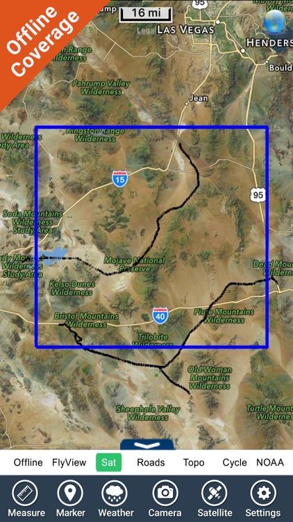 Mojave National Park - GPS Map Navigator screenshot-4