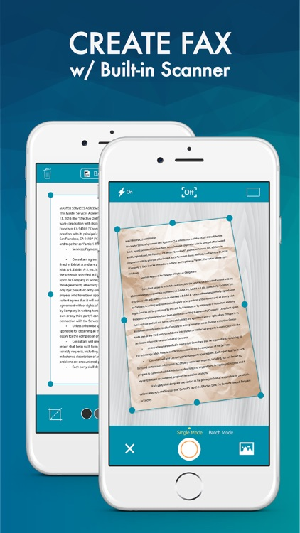 FAX from iPhone: Send Fax App. screenshot-3
