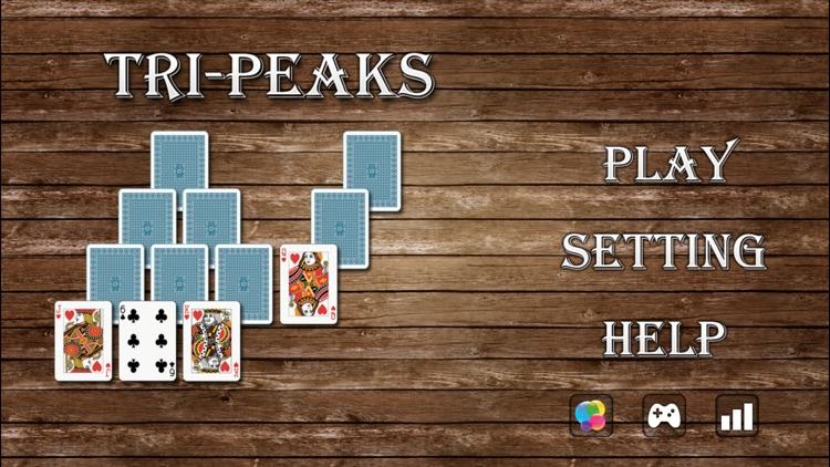 Solitaire Tri-Peaks Go