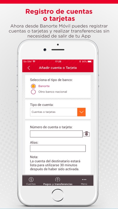 Screenshot for Banorte Móvil in Mexico App Store
