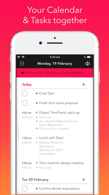 Rooster: Daily Planner screenshot-0