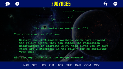 iVoyages screenshot one