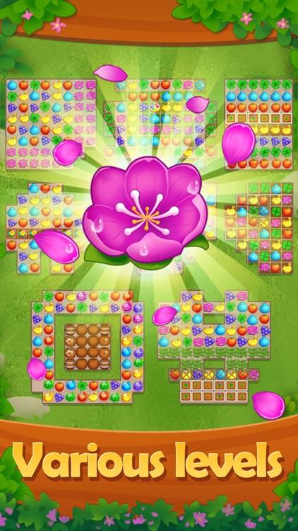 Fruit Garden - Scapes Match 3 screenshot-3