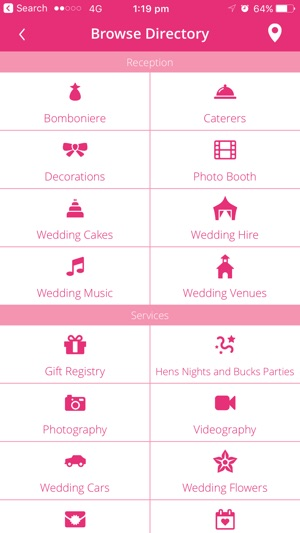 Wedding planner easyweddings on the app store wedding planner easyweddings on the app store junglespirit Images
