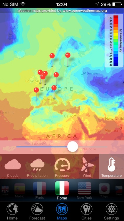 3D Earth - weather widget screenshot-4