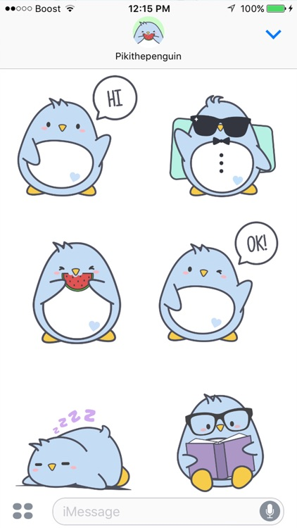 Piki Stickers