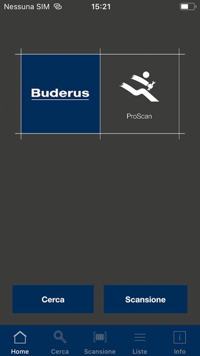Screenshot of Buderus ProScan1