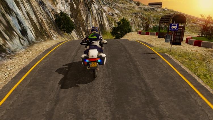 Mountain Motor-Cross Bike Sim screenshot-4