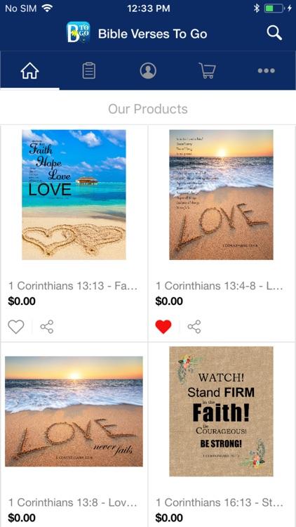 Bible Verses To Go