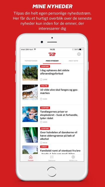 TV 2 Nyheder screenshot-3