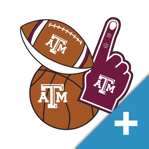 Texas A&M Aggies PLUS Selfie Stickers