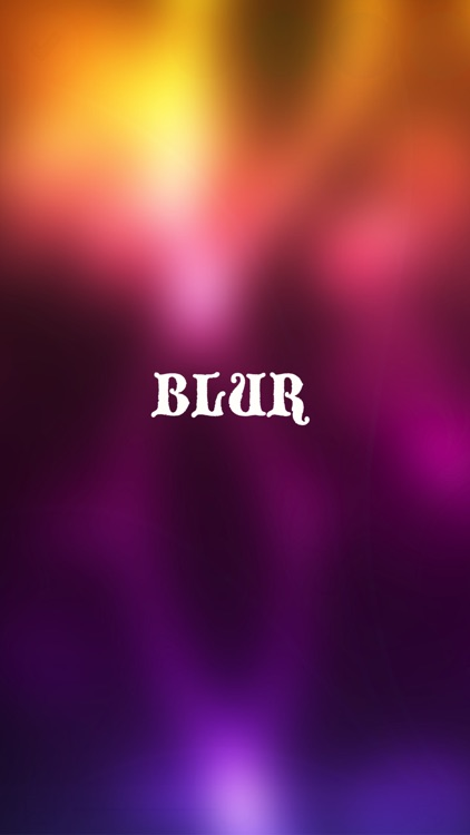 iBlur - Create cool wallpapers