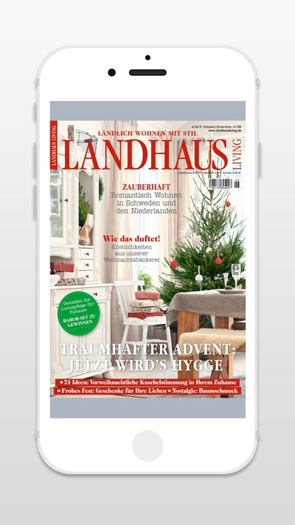 Landhaus Living Zeitschrift By United Kiosk Ag