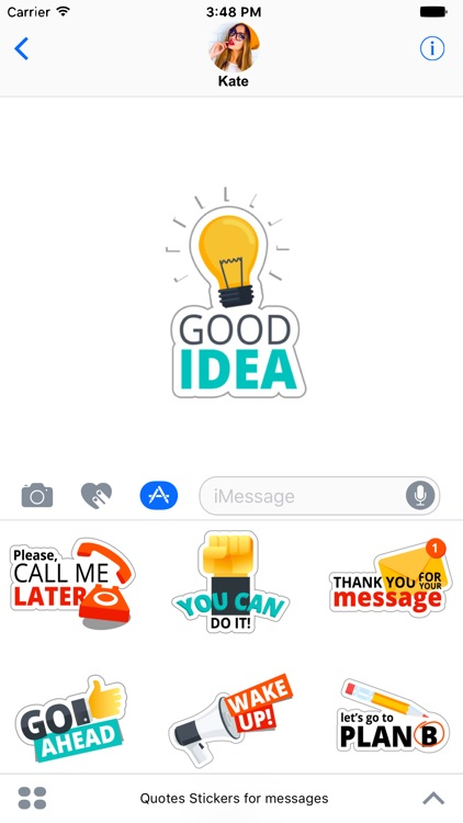Quotes Stickers for messages