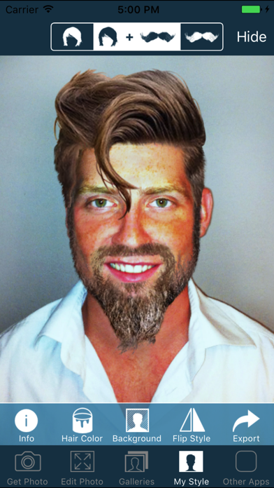 Hair And Beard Styles Pro review screenshots