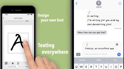 Screenshot #3 for Fontise - Font maker & emoji